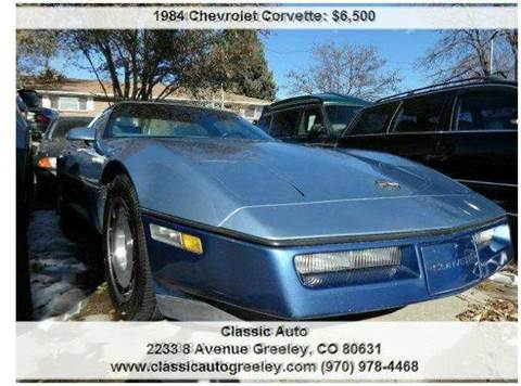 1984 Chevrolet Corvette for sale in Greeley, CO