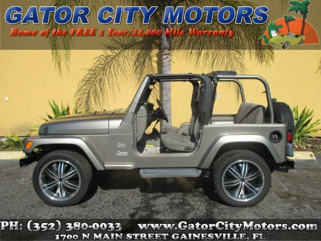 2003 Jeep Wrangler Sahara 4wd 2dr Suv In Gainesville