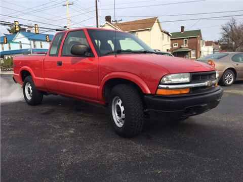 2003 Chevrolet S-10 for sale in Uniontown, PA
