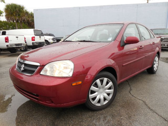 2007 SUZUKI FORENZA POPULAR red down credit approval guaranteed free one year engine warranty   88
