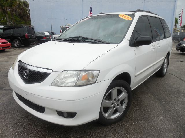 2003 MAZDA MPV LX white down pay ment 500 abs brakesair conditioningalloy wheelsamfm radioant