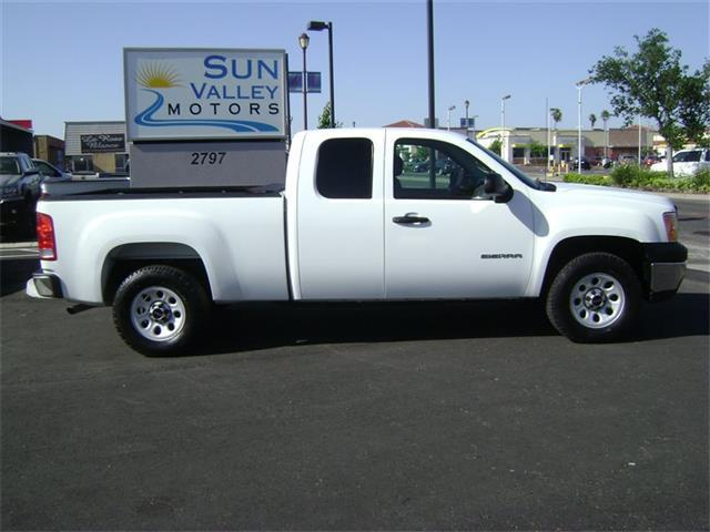 2012 GMC Sierra 1500 4x4 Work Truck 4dr Extended Cab 6.5 ft. SB - Sacramento CA