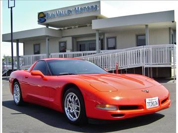 2002 chevrolet corvette for sale california for Sun valley motors sacramento