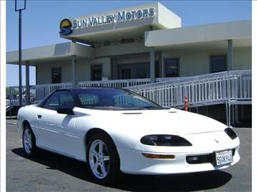 1996 chevrolet camaro for sale for Sun valley motors sacramento