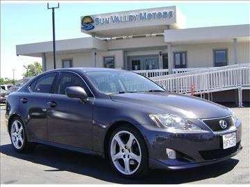 Lexus IS 250 For Sale Sacramento CA Carsforsale