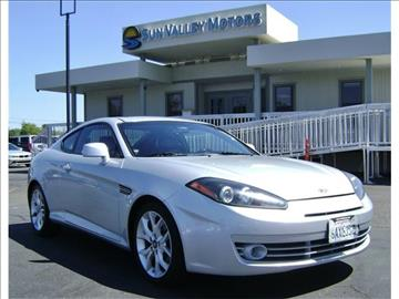 2007 hyundai tiburon for sale for Sun valley motors sacramento