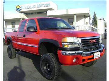 2003 gmc sierra 2500hd for sale for Sun valley motors sacramento