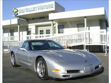 2004 chevrolet corvette for sale california for Sun valley motors sacramento
