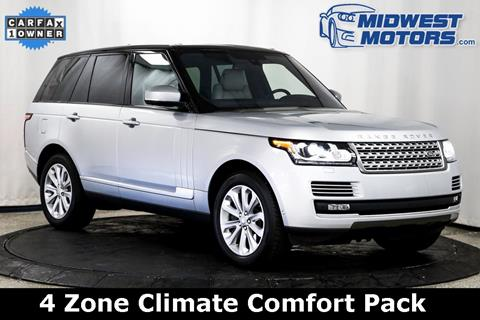 2016 Land Rover Range Rover for sale in Lake Zurich, IL