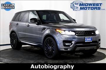 2016 Land Rover Range Rover Sport for sale in Lake Zurich, IL