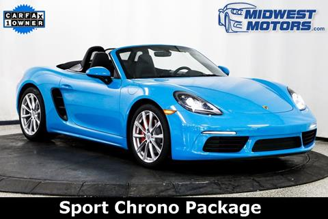 2017 Porsche 718 Boxster for sale in Lake Zurich, IL