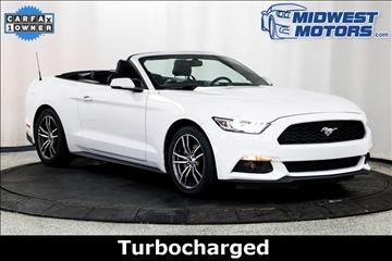 2017 Ford Mustang for sale in Lake Zurich, IL