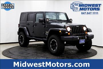 2013 Jeep Wrangler Unlimited for sale in Lake Zurich, IL