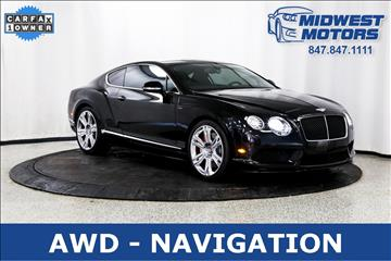 2014 Bentley Continental GT V8 S for sale in Lake Zurich, IL