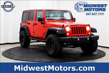 2015 Jeep Wrangler Unlimited for sale in Lake Zurich, IL