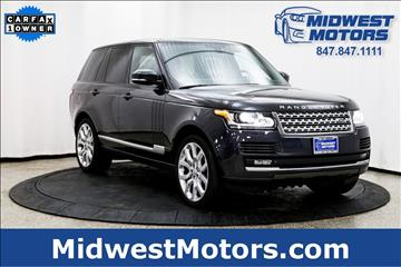 2015 Land Rover Range Rover for sale in Lake Zurich, IL