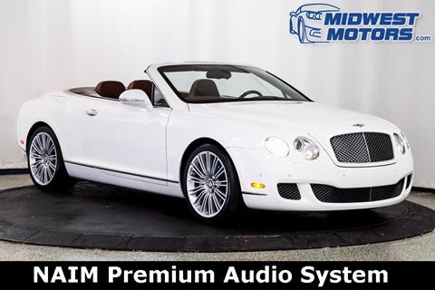 2010 Bentley Continental GTC Speed for sale in Lake Zurich, IL