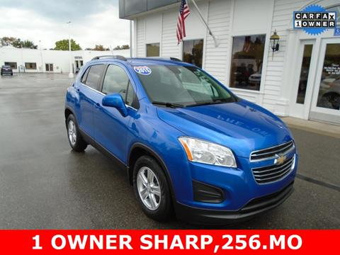 2015 Chevrolet Trax for sale in Frankenmuth MI