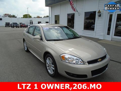2012 Chevrolet Impala for sale in Frankenmuth, MI