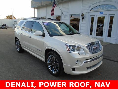 2011 GMC Acadia for sale in Frankenmuth, MI