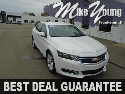 2015 Chevrolet Impala for sale in Frankenmuth, MI