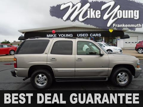 2000 Chevrolet Tahoe for sale in Frankenmuth, MI