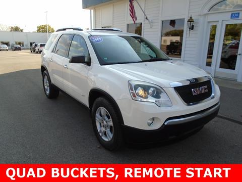 2009 GMC Acadia for sale in Frankenmuth MI