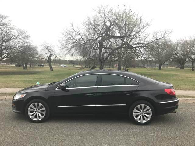 2012 volkswagen cc lux 4dr sedan in san antonio tx texas. Black Bedroom Furniture Sets. Home Design Ideas