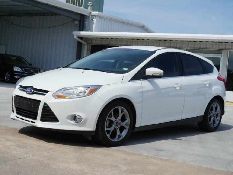 2012 ford focus sel 4dr hatchback in wichita ks kansas auto sales. Black Bedroom Furniture Sets. Home Design Ideas