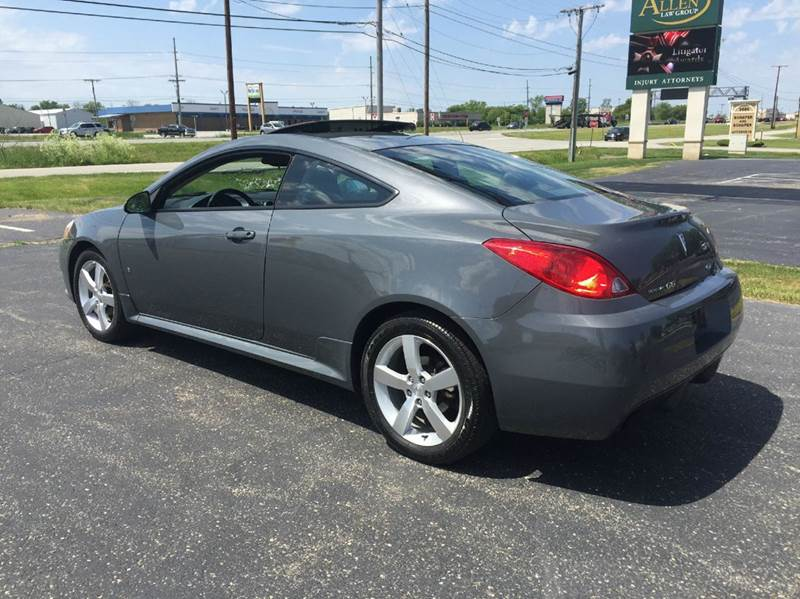 2008 Pontiac G6 GT 2dr Coupe - Merrillville IN