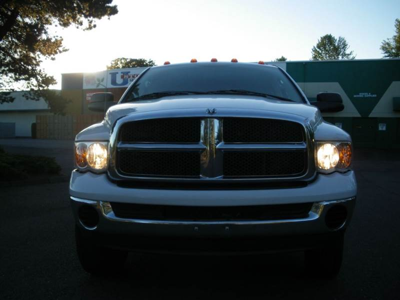2005 Dodge Ram Pickup 3500 4dr Quad Cab SLT 4WD LB - Milwaukie OR