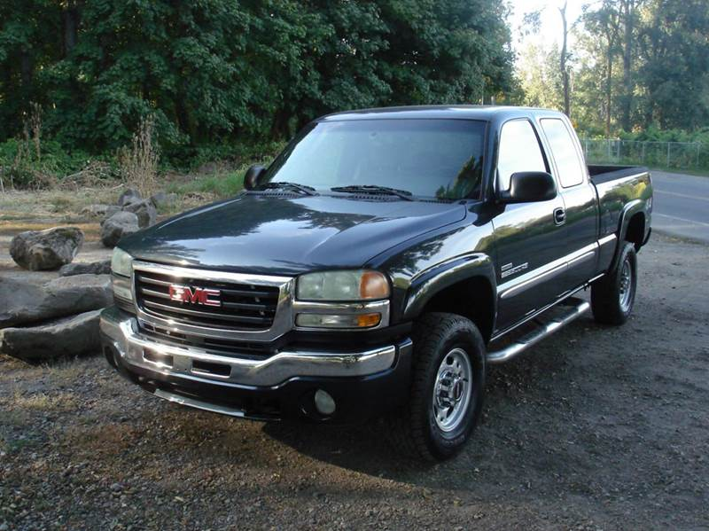 2004 gmc sierra 2500hd 4dr extended cab sle 4wd sb in milwaukie or auction services of america. Black Bedroom Furniture Sets. Home Design Ideas