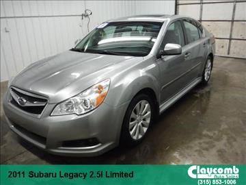 2011 Subaru Legacy for sale in Westmoreland, NY