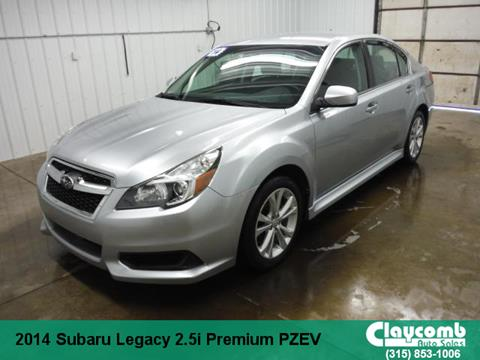 2014 Subaru Legacy for sale in Westmoreland NY