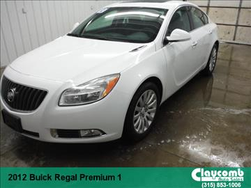 2012 Buick Regal for sale in Westmoreland, NY