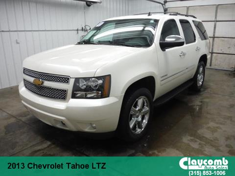 2013 Chevrolet Tahoe for sale in Westmoreland, NY
