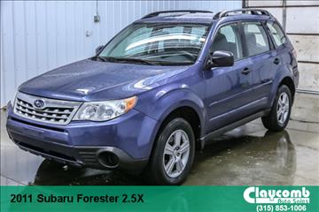 2011 Subaru Forester for sale in Westmoreland, NY