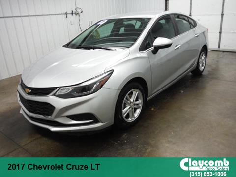2017 Chevrolet Cruze for sale in Westmoreland, NY