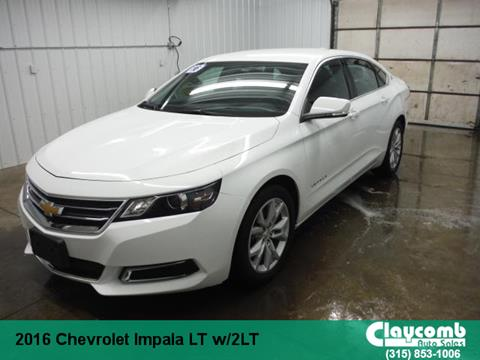 2016 Chevrolet Impala for sale in Westmoreland, NY