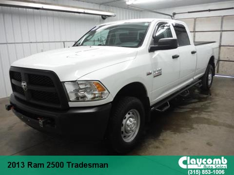 2013 RAM Ram Pickup 2500 for sale in Westmoreland NY