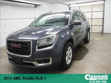 2014 GMC Acadia for sale in Westmoreland, NY