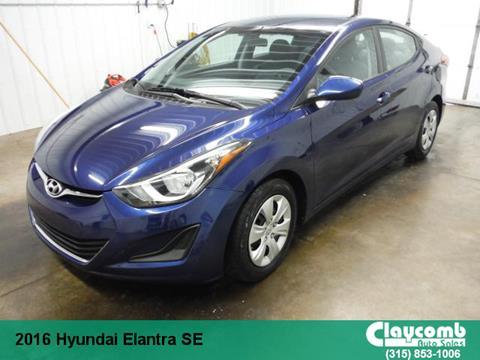2016 Hyundai Elantra for sale in Westmoreland NY