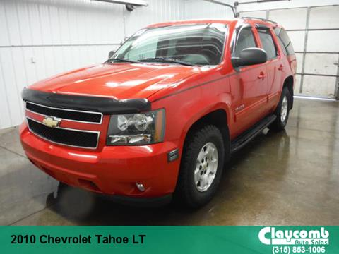 2010 Chevrolet Tahoe for sale in Westmoreland NY