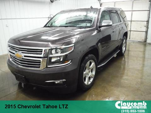2015 Chevrolet Tahoe for sale in Westmoreland, NY