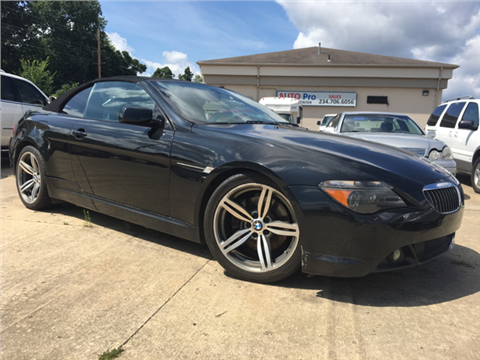 Used Bmw 6 Series For Sale Ohio Carsforsale Com
