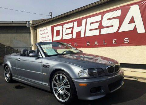 2003 BMW M3 for sale in National City CA