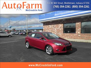 2014 Ford Focus for sale in Middletown, IN