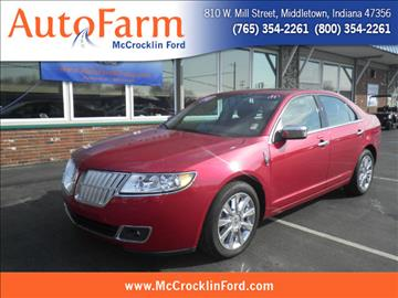 2012 Lincoln MKZ for sale in Middletown, IN