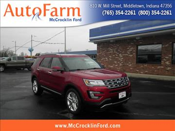 2016 Ford Explorer for sale in Middletown, IN