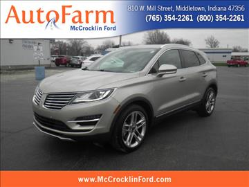 2015 Lincoln MKC for sale in Middletown, IN